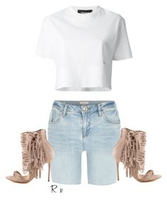 """""""Untitled #1096"""" by rimagharib ❤ liked on Polyvore featuring River Island and Dsquared2"""