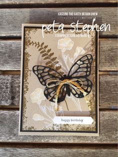 CTC 137 Artistic Expression Stampin' Cat Butterfly Basics Timeless Textures