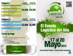 Frente y Vuelta Folleto LogisticsForum 2012