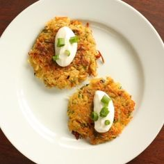 Crispy Scallion Potato Pancakes recipe
