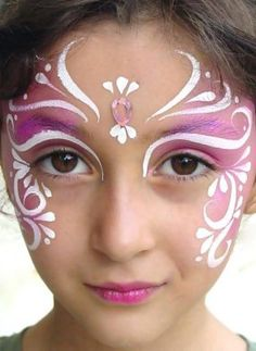 there is face painter at fair that does this one