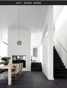 With some easy and simple house interior design ideas you can design and decorate your home in a more stylish and elegant manner. There are plenty of easy and simple house interior design ideas which you can incorporate into any room of your house. Simple House Interior Design, Home Design, Design Ideas, Nordic Design, Design Projects, Halls, Deco Design, Style At Home, White Walls