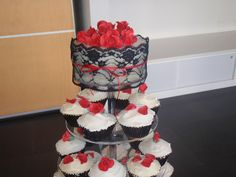 red rose cup cake wedding   Recent Photos The Commons Getty Collection Galleries World Map App ...