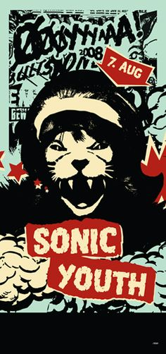 Sonic Youth by Are Kleivan