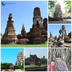 Ayutthaya - Thailanda Mount Rushmore, Mountains, Places, Nature, Travel, Naturaleza, Viajes, Destinations, Traveling