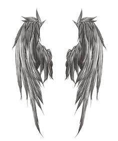 Angel wings<3
