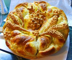 svadbeni pogaci. Unbelievable! East tips for beautiful breads. http://supercook.ru/decoration/decoration-03g.html
