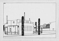 Une cité moderne, Robert Mallet Stevens. Maisons ouvrières (n° 14)