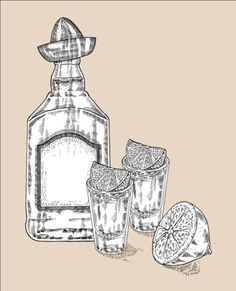 Tequila with Bottle and glasses hand drawn vector 04 - https://www.welovesolo.com/tequila-with-bottle-and-glasses-hand-drawn-vector-04/?utm_source=PN&utm_medium=welovesolo59%40gmail.com&utm_campaign=SNAP%2Bfrom%2BWeLoveSoLo