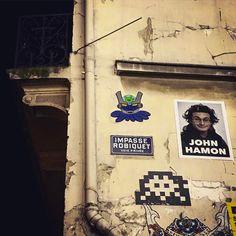 Street art ! 👾 🐙@gzup_streetart @invaderwashere #invagzup #gzup #invader #octopus #streetart #art #pieuvre #gzupstreetart #art #paris #france #graffiti #graff #instagraffiti #instagraff #urbanart #wallart #artist #urbanart #parisart #iloveparis  #paris14 #black #blue