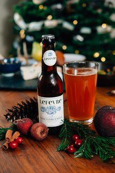 Winter photo shoot with Lefevre cidres. #fooddecor #cider #farmtotable #foodphotography #beveragephotography #frenchcider