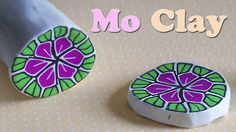 DIY Polymer Clay flower cane - Millefiori in pasta sintetica - Flor en A...