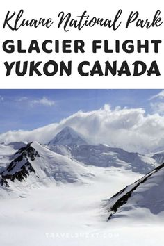 Buckling up into a tiny Cessna, I steady myself as the plane swerves over green valleys, with snowy mountains in the distance. Ski Canada, Yukon Canada, Yukon Territory, National Parks Usa, Green Valley, Snowy Mountains, Beautiful Sky, Where To Go, Cool Places To Visit