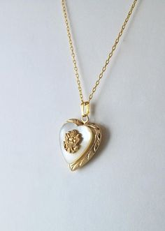 Army Locket Vintage Locket Military Necklace Military Jewelry