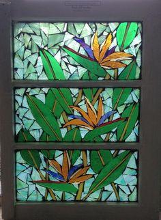 Bird Of Paradise - from Delphi Artist Gallery by Niagara Glass Mosaics