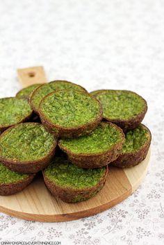 Mini Cheesy Spinach Puffs