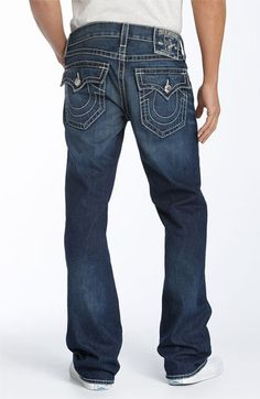 Love True Religion jeans on Clay