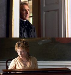 Probably my favorite movie moment of all....when Col. Brandon first sees Marianne (Sense and Sensibility, 1995)