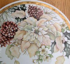 Christmas Poinsettia Tray Design