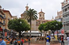 Plaza de Las Flores, Murcia City