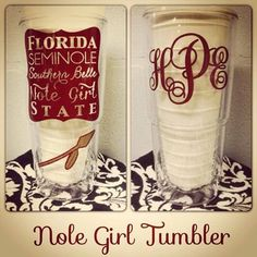 Southern Belle Nole Girl 24 oz. Tervis Tumbler by SouthardBelle, $35.00