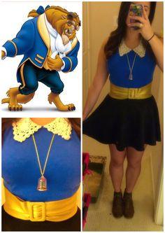 Omg I love this soooo mush!!!! Super awesome beast Disney bound!