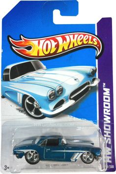 2013 Hot Wheels Super Treasure Hunt '62 Corvette (J case)