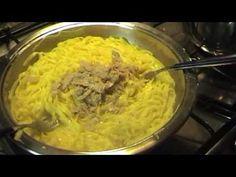 Tagliolini al tartufo bianco d'Alba Alba, Macaroni And Cheese, Meat, Chicken, Ethnic Recipes, Youtube, Food, Fantasy, Mac And Cheese