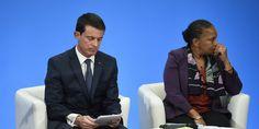 """France. Jeudi 28 janvier 2016. Finalement, Manuel Valls rend hommage à Christiane Taubira qu'il espère croiser """"lors de concerts ou d'opéras"""""""
