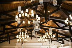 www.corinnahoffman.com - Whimsical Hanging-Lantern Reception Lighting