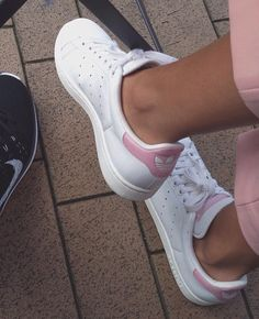 White and Pink 2006 Stan Smiths want them soooooooooooooooo baaaaaaaaaaaaaaad!!!!
