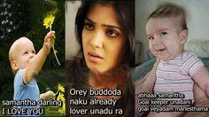 Samantha Darling I Love You Telugu Funny
