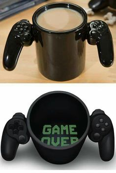 Game over mug haha, cool