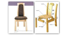 Laminated Dining Chair Plans - Furniture Plans and Projects   WoodArchivist.com