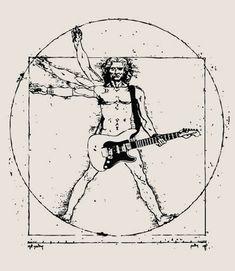 #rock_n_roll #leonardo_da_vinci