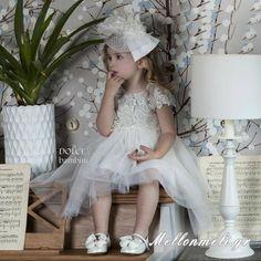 """Βαπτιστικό Φόρεμα Dolce Bambini """"Estelle"""", κωδ. 405-1 Girls Dresses, Flower Girl Dresses, Wedding Dresses, Fashion, Dresses Of Girls, Bride Dresses, Moda, Bridal Gowns, Fashion Styles"""