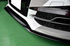 Audi S3 Sedan / A3 S-Line Sedan (8V) FAREAST Front Splitter - hitotsuyamagmbh