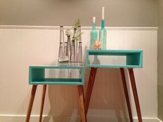 Sarah Moore | Mid Century Modern Side Table by 4 and For on Luvocracy