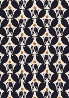 Debbie Powell bird pattern