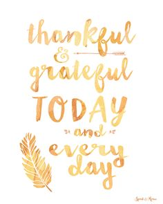 Monday Quote: Thankful & Grateful today and every day ✨ #TheaJewelry #CelebrateLifeMore