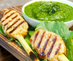 Thai Chicken Lemongrass Skewer - Creative Culinary Group – Kara Mickelson