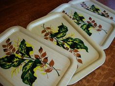 TV trays Tv Trays, Metal Trays, Serving Trays, Tins, Lovely Things, Snacks, Antiques, Handmade Gifts, Etsy