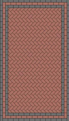 Block paving laying patterns including 45 degree herringbone, 90 degree herringbone, stretcher bond and Paving Stone Patio, Concrete Paving, Stone Driveway, Brick Walkway, Driveway Design, Garden Paving, Paving Stones, Block Paving Patterns, Brick Patterns