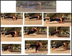 Ten ways to plank