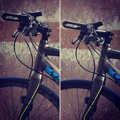 左:before  右:after  ステム逆付けでハンドルの高さを下げてみた 前より前傾姿勢になった分スピードがちょっと早くなった() そしてちょっとカッコよくなった気がする笑 #クロスバイク  #スペシャライズド  #シラスコンプディスク #ステム逆付け #自己満足 #crossbike #specialized  #sirruscompdisc  #sirruscomp  #bicycle by numacchiii