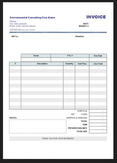 13 best invoices and receipts images on pinterest invoice template