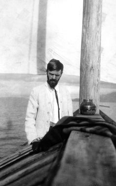 D.H Lawrence, Mexico, 1923.