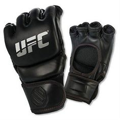 UFC Professional MMA Training Glove Mixed Martial Arts Grappling c148001. UFC Professional MMA Training Glove Mixed Martial Arts Grappling c148001       Fully open palm design for realistic training       Reinforced stitching with covered seams       Energy absorbing foam aids offers exceptional cushion       Composed of genuine cowhide leather       High end 100% Polyurethane synthetic leather palmColor: BlackSize: S, M, L, XL, 2XL