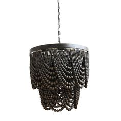 Wood Bead Chandelier, Empire Chandelier, Black Chandelier, Chandelier Lighting, Contemporary Chandelier, Ceiling Lighting, Ceiling Fan, Buy Chandelier, How To Make A Chandelier