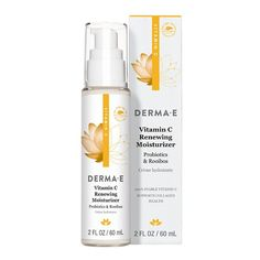 Vitamin C Renewing Moisturizer | This lightweight day moisturizer helps to naturally support collagen health while protecting skin from pollutants and impurities.